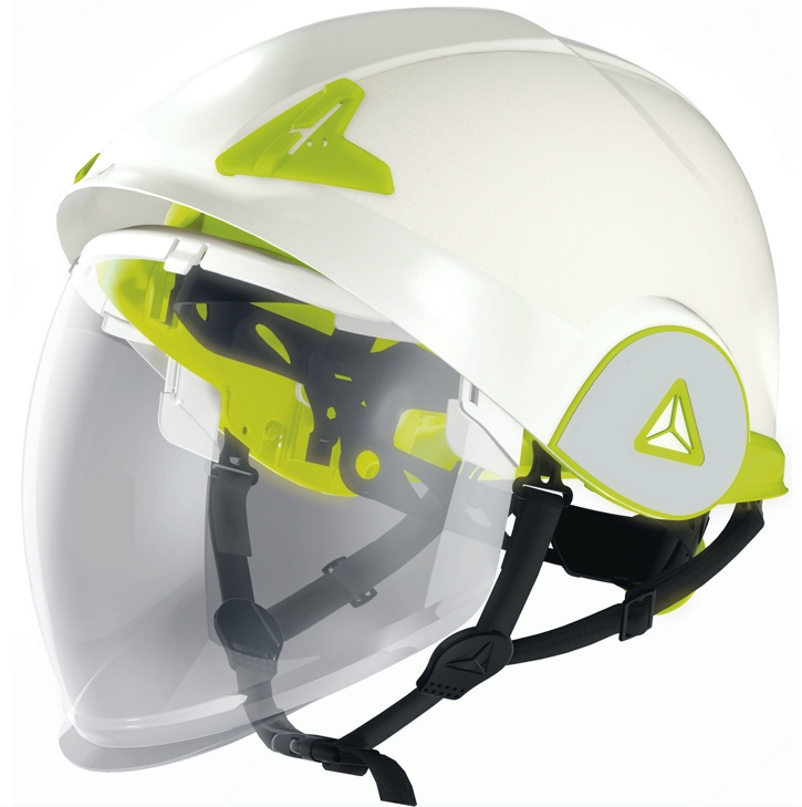 ONYX – ARC FLASH DUAL ABS SHELL SAFETY HELMET WITH RETRACTABLE VISOR